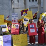 Ground Report:  March for Human Rights Unite Tibetans, Chinese, Syrians and Occupy LA