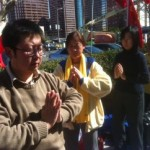 KPCC: Hundreds protest Tibet injustices in downtown Los Angeles