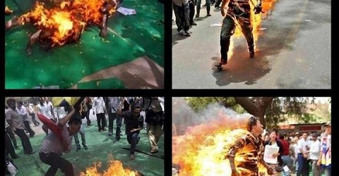 Jampa Yeshi Self Immolates in Delhi, India