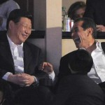 LA TIMES: Xi Jinping takes in Lakers game before leaving from LAX