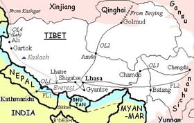 Journey from Tibet to Bhutan