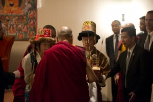 Tibetan Audience with His Holiness the Dalai Lama, February, 2014