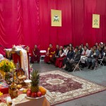 His Holiness Sakya Trizin visit